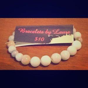 Jewelry - Bracelets by Laura; marbled glass bracelet